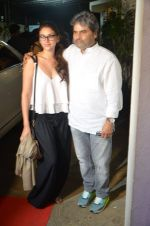 Aditi Rao Hydari, Vishal Bharadwaj at Haider screening in Sunny Super Sound on 30th Sept 2014 (194)_542be03a2300e.JPG