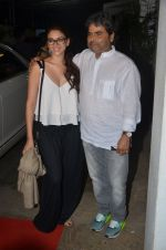 Aditi Rao Hydari, Vishal Bharadwaj at Haider screening in Sunny Super Sound on 30th Sept 2014 (198)_542be03bb9462.JPG