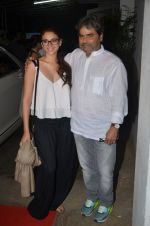 Aditi Rao Hydari, Vishal Bharadwaj at Haider screening in Sunny Super Sound on 30th Sept 2014 (200)_542be03cb7724.JPG