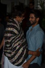 Amitabh Bachchan, Shahid Kapur at Haider screening in Sunny Super Sound on 30th Sept 2014 (310)_542be190f025c.JPG