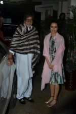 Amitabh Bachchan, Shraddha Kapoor at Haider screening in Sunny Super Sound on 30th Sept 2014 (322)_542be19a3c290.JPG