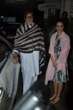 Amitabh Bachchan, Shraddha Kapoor at Haider screening in Sunny Super Sound on 30th Sept 2014 (324)_542be19b3ab00.JPG
