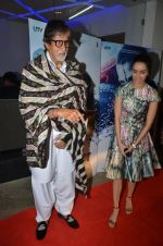 Amitabh Bachchan, Shraddha Kapoor at Haider screening in Sunny Super Sound on 30th Sept 2014 (56)_542be19291d66.JPG