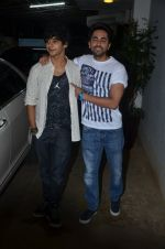 Ayushman Khurana, Ishaan Khattar at Haider screening in Sunny Super Sound on 30th Sept 2014 (256)_542be2875d69d.JPG