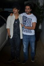 Ayushman Khurana, Ishaan Khattar at Haider screening in Sunny Super Sound on 30th Sept 2014 (259)_542be2edbae52.JPG