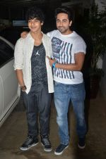 Ayushman Khurana, Ishaan Khattar at Haider screening in Sunny Super Sound on 30th Sept 2014 (260)_542be2eeabde7.JPG