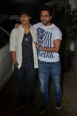 Ayushman Khurana, Ishaan Khattar at Haider screening in Sunny Super Sound on 30th Sept 2014 (261)_542be2898d2bb.JPG