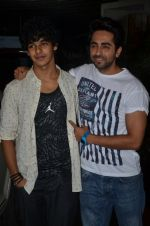 Ayushman Khurana, Ishaan Khattar at Haider screening in Sunny Super Sound on 30th Sept 2014 (266)_542be2f01e44e.JPG