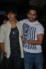 Ayushman Khurana, Ishaan Khattar at Haider screening in Sunny Super Sound on 30th Sept 2014 (268)_542be2f0ceb64.JPG