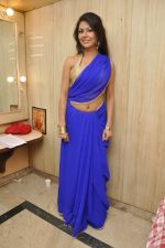 Bhoomi Shree in saree at Blackmail film on the sets in Future Studio on 30th Sept 2014 (73)_542bdfdb940fb.JPG