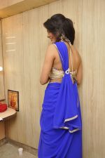 Bhoomi Shree in saree at Blackmail film on the sets in Future Studio on 30th Sept 2014 (75)_542bdfdd3d4a8.JPG