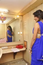 Bhoomi Shree in saree at Blackmail film on the sets in Future Studio on 30th Sept 2014 (76)_542bdfde50e95.JPG