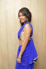 Bhoomi Shree in saree at Blackmail film on the sets in Future Studio on 30th Sept 2014 (83)_542bdfe487fc8.JPG