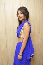Bhoomi Shree in saree at Blackmail film on the sets in Future Studio on 30th Sept 2014 (84)_542bdfe5605a2.JPG
