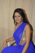 Bhoomi Shree in saree at Blackmail film on the sets in Future Studio on 30th Sept 2014 (71)_542bdfd90e528.JPG