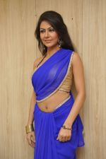 Bhoomi Shree in saree at Blackmail film on the sets in Future Studio on 30th Sept 2014 (72)_542bdfda9c458.JPG