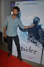 Shahid Kapoor at Haider screening in Sunny Super Sound on 30th Sept 2014 (78)_542be4a7df5cb.JPG