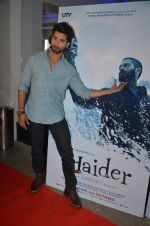 Shahid Kapoor at Haider screening in Sunny Super Sound on 30th Sept 2014 (81)_542be4aacbadb.JPG