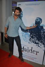 Shahid Kapoor at Haider screening in Sunny Super Sound on 30th Sept 2014 (82)_542be4ac0ce2f.JPG