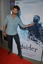 Shahid Kapoor at Haider screening in Sunny Super Sound on 30th Sept 2014 (83)_542be4ad930b0.JPG