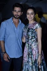 Shraddha Kapoor, Shahid Kapoor at Haider screening in Sunny Super Sound on 30th Sept 2014 (53)_542be527304f1.JPG
