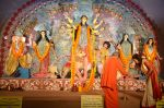 Sushmita Sen at Durga Pooja on 30th Sept 2014 (133)_542be0564bfcb.JPG