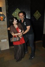 Ayesha Jhulka snapped at Mahesh Lunch Home on 4th Oct 2014  (124)_5430b985b5b21.JPG