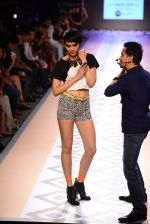 Raghav Sachar walks for Rina Dhaka at Myntra fashion week day 1 on 3rd Oct 2014 (417)_5431274ddc314.JPG