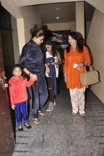 Sushmita Sen snapped with family at PVR on 4th Oct 2014 (10)_5430d61fd6524.JPG