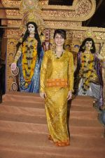 Tanisha Mukherjee at Durga Pooja on 4th Oct 2014 (10)_5430bc7e4d595.JPG