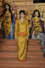 Tanisha Mukherjee at Durga Pooja on 4th Oct 2014 (3)_5430bc3c691e7.JPG