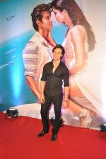 Tiger Shroff at Bang Bang special screening hosted by Hrithik Roshan on 1st Oct 2014 (33)_5430e2b5de720.JPG