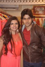 Abhimanyu Dassani at Ushma Vaidya presented her festive collection in Dvar, Juhu, Mumbai on 7th Oct 2014 (248)_5434d9e7582a2.JPG