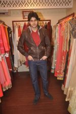 Abhimanyu Dassani at Ushma Vaidya presented her festive collection in Dvar, Juhu, Mumbai on 7th Oct 2014 (253)_5434d9c9ecfb7.JPG