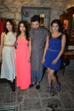 Feryna Wazheir, Rachana Shah, Randeep Hooda, Tia Bajpai at Rang Rasiya fashion promotions in Ensemble on 7th Oct 2014 (125)_5434deac55464.JPG
