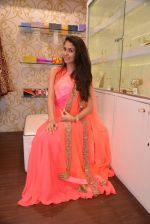 Malvika Raaj at Ushma Vaidya presented her festive collection in Dvar, Juhu, Mumbai on 7th Oct 2014 (357)_5434db59d346f.JPG