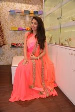 Malvika Raaj at Ushma Vaidya presented her festive collection in Dvar, Juhu, Mumbai on 7th Oct 2014 (358)_5434db5ff3105.JPG