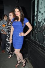 Zarine Khan at Nido Bar Nights by Butter Events in Mumbai on 10th Oct 2014 (18)_54391f6b4386a.JPG