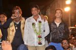 Aslam Shaikh with Amir Ali and Shakti Kapoor  in support of the Malad West candidate Aslam Shaikh (6)_543cc64658684.JPG