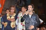 Aslam Shaikh with Amir Ali and Shakti Kapoor  in support of the Malad West candidate Aslam Shaikh (8)_543cc64798971.JPG