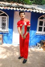 Hiten Tejwani at TV shoot for new season of Cricket league in Mumbai on 13th Oct 2014 (18)_543cd52bdbe4e.JPG