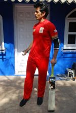 Hiten Tejwani at TV shoot for new season of Cricket league in Mumbai on 13th Oct 2014 (23)_543cd530ccc97.JPG