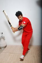 Hiten Tejwani at TV shoot for new season of Cricket league in Mumbai on 13th Oct 2014 (24)_543cd5317dbe3.JPG