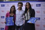 Aditi Sharma, Divyendu Sharma, Neha Dhupia  at Bombay Blues brailler menu launch - a Mirchi cares initiative in bandra, Mumbai on 16th Oct 2014(79)_54412832c2db8.JPG
