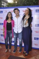 Aditi Sharma, Divyendu Sharma, Neha Dhupia  at Bombay Blues brailler menu launch - a Mirchi cares initiative in bandra, Mumbai on 16th Oct 2014(78)_544128da78df8.JPG