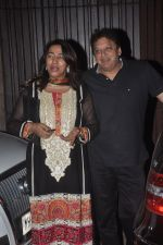 Anu Ranjan, Sashi Ranjan snapped in Juhu at A private Diwali Bash in Mumbai on 18th Oct 2014 (7)_5443c294807a8.JPG