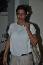 Zoya Akhtar snapped at Hollywood screening in Sunny Super Sound on 17th Oct 2014 (101)_5443a23144bae.JPG