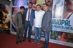 Kal Penn, Rajpal Yadav, Manoj Joshi, Ravi Walia at the Media meet of Bhopal - A Prayer For Rain in Mumbai on 20th Oct 2014 (10)_5445fedfef744.JPG