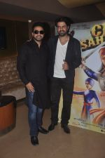 Harman Baweja, Raj Kundra at the Launch of Chaar Sahibzaade by Harry Baweja in Mumbai on 22nd Oct 2014 (12)_5448ebc8822a1.JPG