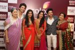 L-R Jayati Bhatia aka Mataji, Siddhant aka Manish Raisinhania, Roli aka Avika Gor, Simar aka Deepika Samson, Prem aka Dheeraj Dhoopar, MJ aka Nimisha at the celebration of Sasural Simar Ka 1000 episode completion_5448d3ad3f52b.JPG